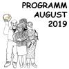 08-2019 Unser Monatsprogramm für August 2019