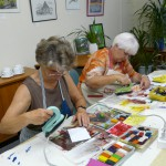 Encaustic-Kurs am 27.05.2014